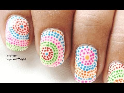 doted nail