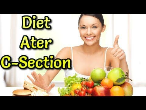 Diet After C-Section